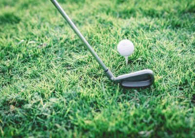 Golf Landingpage